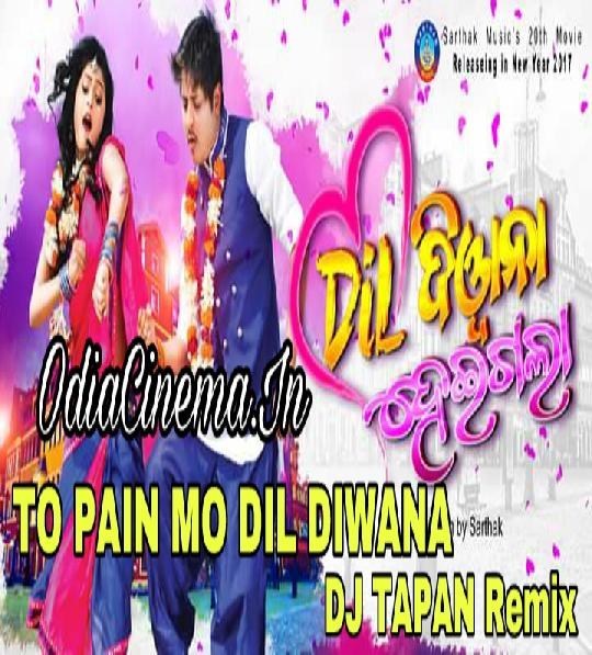To Pain Mun Dil Diwana - DJ Tapan Remix